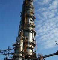 Colonne de distillation de pétrole